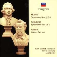 Wolfgang Amadeus Mozart (1756-1791): Symphonien Nr.39 & 41, 2 CDs