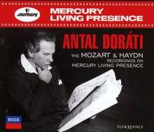 Antal Dorati - The Mozart & Haydn Recordings on Mercury Living Presence, 4 CDs