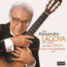 Alexandre Lagoya Edition (mit Ida Presti) - Complete Philips & RCA Recordings, 10 CDs