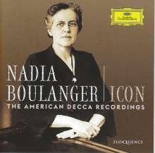 Nadia Boulanger - Icon, 5 CDs