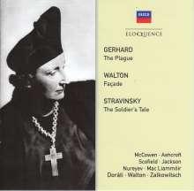 Robert Gerhard (1896-1970): The Plague, 2 CDs
