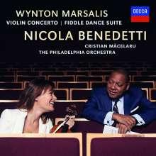 Wynton Marsalis (geb. 1961): Violinkonzert D-Dur, CD