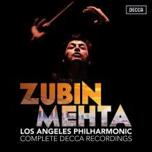 Zubin Mehta & Los Angeles Philharmonic - Complete Decca Recordings, 38 CDs