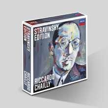 Igor Strawinsky (1882-1971): Riccardo Chailly - Stravinsky Edition (The Complete Recordings), 10 CDs