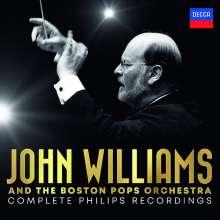 John Williams & Boston Pops Orchestra - Complete Philips Recordings, 21 CDs