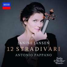Janine Jansen - 12 Stradivari, CD