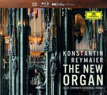 Die neue Orgel im Stephansdom Wien (mit Dolby Atmos Blu-ray Audio), 1 CD und 1 Blu-ray Audio