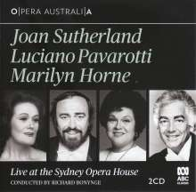 Joan Sutherland, Luciano Pavarotti & Marilyn Horne - Live at the Sydney Opera House, 2 CDs
