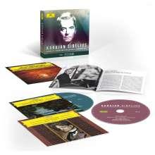 Jean Sibelius (1865-1957): Herbert von Karajan - Complete Sibelius Recordings on Deutsche Grammophon (mit Blu-ray Audio), 5 CDs und 1 Blu-ray Audio