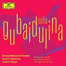 """Sofia Gubaidulina (geb. 1931): Violinkonzert Nr.3 """"Dialog: Ich und Du"""", CD"""