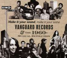 Make It Your Sound, Make It Your Scene: Vanguard Records - The 1960s Musical Revolution, 4 CDs