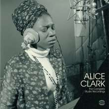 Alice Clark: The Complete Studio Recordings (180g) (Limited Edition) (White Vinyl), LP