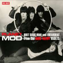 Planet Mod - Brit Soul, R&B And Freakbeat From The Shel Talmy Vaults (180g) (Translucent Red Vinyl), 2 LPs