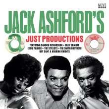 Jack Ashford's Just Productions (Black Vinyl), LP