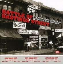 Battle Of Hastings Street, CD