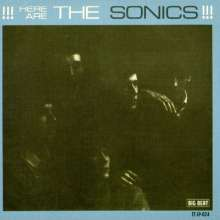 Sonics: Here Are The Sonics!!!, CD