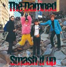 """The Damned: Smash It Up (Limited Edition) (Red Vinyl), Single 7"""""""
