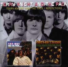 Terry Knight & The Pack: Terry Knight And The Pack / Reflections, CD