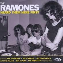 The Ramones Heard Them Here First, CD