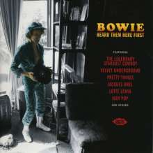 Bowie Heard Them Here First, CD