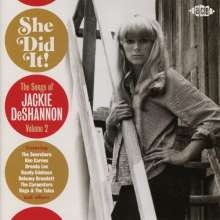 She Did It! Songs Of Jackie DeShannon Vol.2, CD