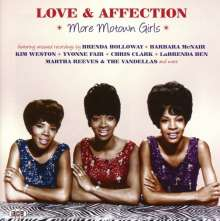 Love & Affection: More Motown Girls, CD