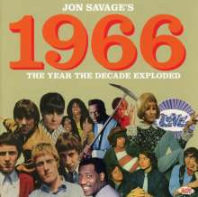 Jon Savage's 1966: The Year The Decade Exploded, 2 CDs