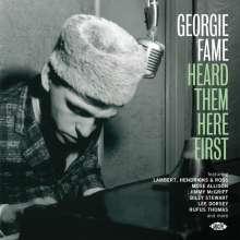 Georgie Fame Heard Them Here First, CD