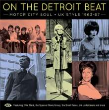 On The Detroit Beat: Motor City Soul - UK Style, CD