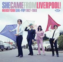 She Came From Liverpool! Merseyside Girl Pop 1962 - 1968, CD