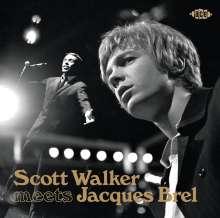 Scott Walker & Jacques Brel: Scott Walker Meets Jacques Brel, CD