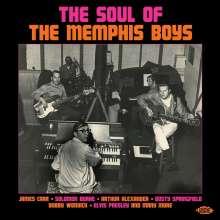 The Soul Of The Memphis Boys, CD
