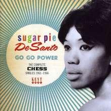 Sugar Pie Desanto: Go Go Power: Complete Chess Singles, CD