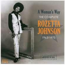 Rozetta Johnson: A Womans Way: The Complete Rozetta Johnson 1963-1975, CD