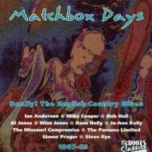 Matchbox Days, CD