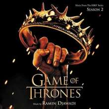 Ramin Djawadi (geb. 1974): Filmmusik: Game Of Thrones: Season 2, CD