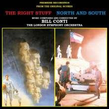 Bill Conti: Filmmusik: The Right Stuff/North And South, CD