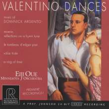 Dominick Argento (1927-2019): Valentino Dances, CD