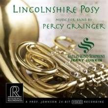 Percy Grainger (1882-1961): Werke für Blasorchester, CD