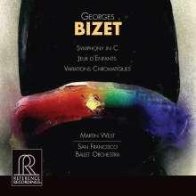 Georges Bizet (1838-1875): Symphonie C-dur (HDCD), CD