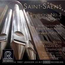 "Camille Saint-Saens (1835-1921): Symphonie Nr.3 ""Orgelsymphonie"" (HDCD), CD"