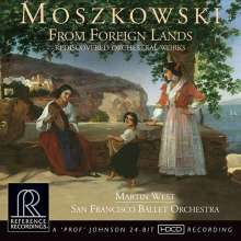 Moritz Moszkowski (1854-1925): Orchesterwerke (HDCD), CD