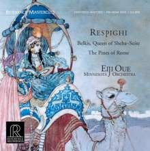 Ottorino Respighi (1879-1936): Belkis, Queen of Sheba (200g), LP