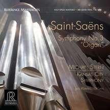 """Camille Saint-Saens (1835-1921): Symphonie Nr.3 """"Orgelsymphonie"""" (180g) (45rpm), LP"""