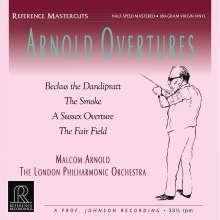 Malcolm Arnold (1921-2006): Ouvertüren (180g / Half-Speed Mastered), LP