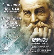 Mason Bates (geb. 1977): Children of Adam, CD