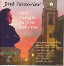 "Jose Serebrier (geb. 1938): Werke ""Last Tango Before Sunrise"", CD"