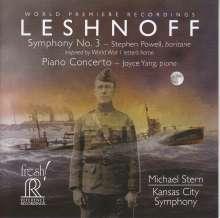 Jonathan Leshnoff (geb. 1973): Symphonie Nr.3, Super Audio CD