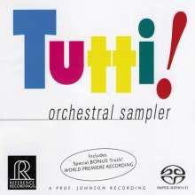 Reference Recording SACD-Sampler - Tutti!, Super Audio CD