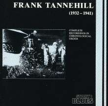 Frank Tannehill: (1932-1941)Complete Recordings, CD